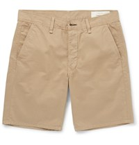 Rag And Bone Standard Issue Cotton Twill Shorts