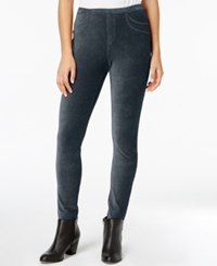 Style And Co Corduroy Leggings Created For Macy's Industrial Blue