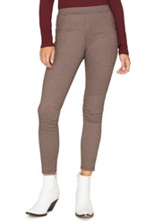 Sanctuary Grease Plaid Leggings Small Houndstooth