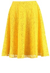 Anna Field Aline Skirt Spectra Yellow