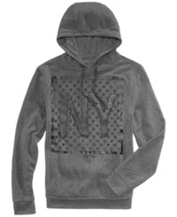 Ring Of Fire Men's Ny Stars Graphic Hoodie Charcoal