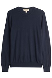 Burberry Brit Cashmere Cotton Pullover Blue
