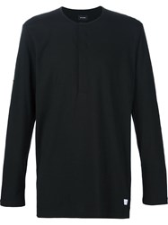 Stampd Button Down Longsleeved T Shirt Black