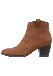 Dorothy Perkins Amber Ankle Boots Chestnut Brown