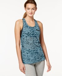 Soybu Lucy Burnout Racerback Tank Top Gemstone