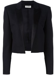 Saint Laurent 'Iconic Le Smoking 80'S Spencer' Jacket Black