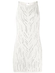 Ermanno Scervino Embellished Knitted Tunic 60