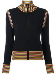 Tory Burch Zipped Cardigan Blue
