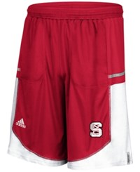 Adidas Men's Nc State Wolfpack Player Shorts Red