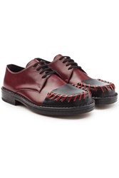 Marni Leather Lace Ups Red