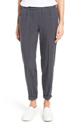 Nordstrom Women's Collection Linen Blend Trousers