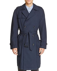 Vince Lightweight Trench Coat Coastal Blue