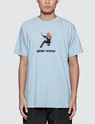 Raised By Wolves Barb Wire S S T Shirt