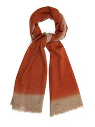 Richard James Two Tone Cashmere Scarf