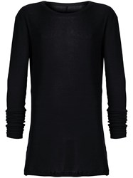 Unravel Project Long Sleeve T Shirt Black