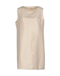 Lou Lou London Dresses Short Dresses Women Beige