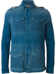 Hydrogen Denim Jacket Blue