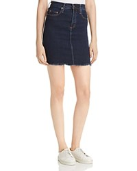 Nobody Cult Denim Skirt In Pure Edge