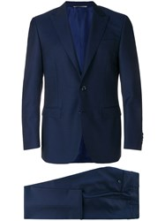 Canali Classic Formal Suit Blue