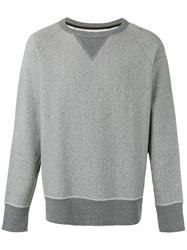 Rag And Bone Crew Neck Sweatshirt Men Cotton L Grey