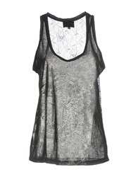 Hotel Particulier Tank Tops Black