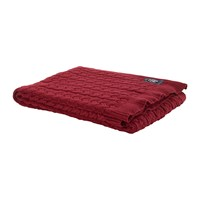 Tommy Hilfiger The American Classic Throw Bordeaux
