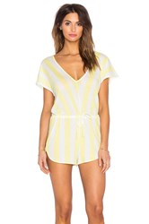 Wildfox Couture Roadtrip Romper Yellow