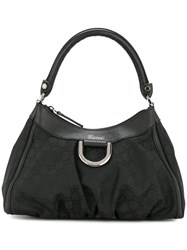 Vintage Guccissima Abbey Hand Bag Black
