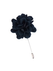 Lanvin Floral Wool Blend Tie Pin