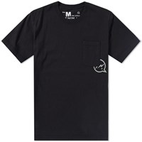 Denim By Vanquish And Fragment Icon Pocket Tee Black