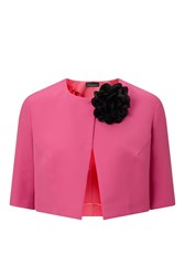 James Lakeland Pin Flower Bolero Pink