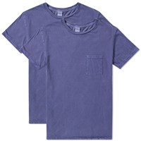 Fuct Ssdd Pocket Tee 2 Pack Blue