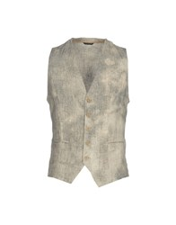 Daniele Alessandrini Vests Light Grey