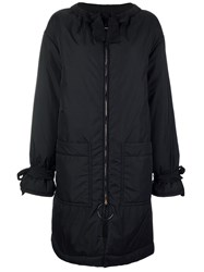 Marni Zipped Down Coat Black