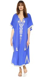 Gallabia Royal Butterfly Dress Blue