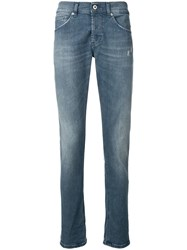Dondup Mid Rise Jeans Blue