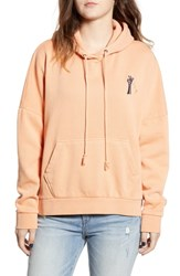 Obey Hester Pullover Hoodie Dusty Coral