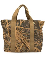 Filson Grass Print Shopper Tote 60