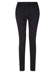 East Jacquard Trousers Black