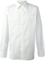 Universal Works Chest Pocket Shirt Nude And Neutrals