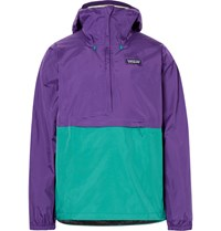 Patagonia Torrentshell Waterproof Ripstop Hooded Jacket Purple