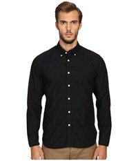 Billy Reid Oxford Shirt Black Men's Sweater