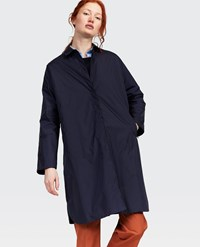 Aspesi Nylon Raincoat Blue