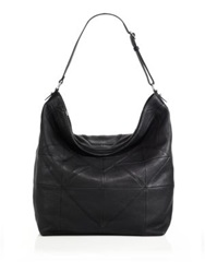 Christopher Kon P.S. Leather Hobo Atmosphere Black