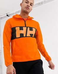 Helly Hansen Active Windbreaker Anorak Orange