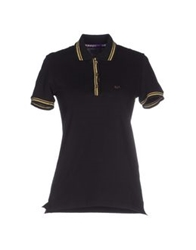 Baci And Abbracci Polo Shirts Black