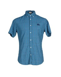 Sundek Shirts Shirts Men Azure