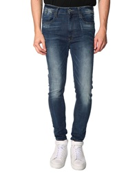 G Star Type C Low Crotch Blue Used Jeans
