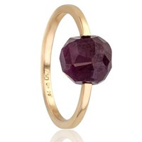 Geraldine Valluet Nude Collection Ring Gold And Ruby Red Gold