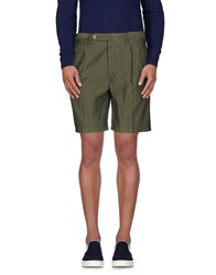 Rotasport Trousers Bermuda Shorts Men Military Green